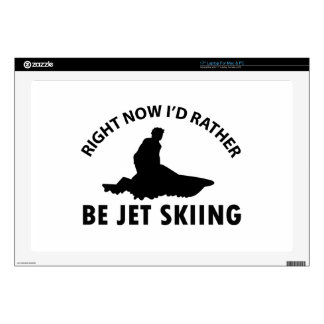 Right now I'd rather Jet Skiing gift items Laptop Skin