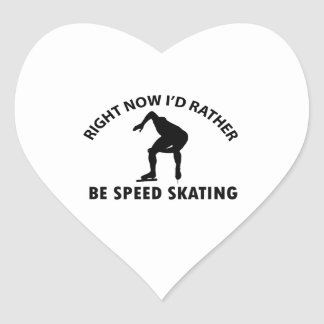 Right now I'd rather Speed Skating gift items Stickers