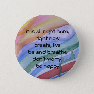 """right now"" watercolor button"