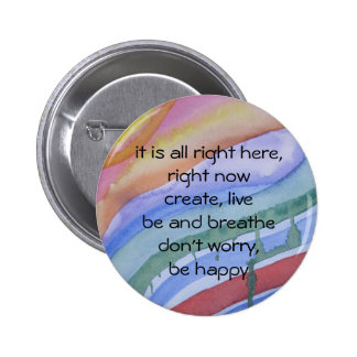 """""""right now"""" watercolor button"""