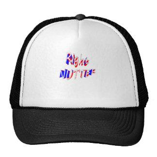 right nutter trucker hat