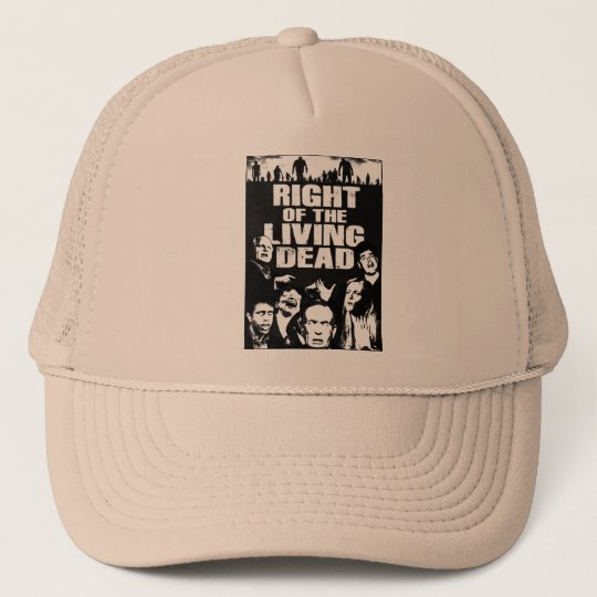 Right Of The Living Dead Ball Trucker Hat