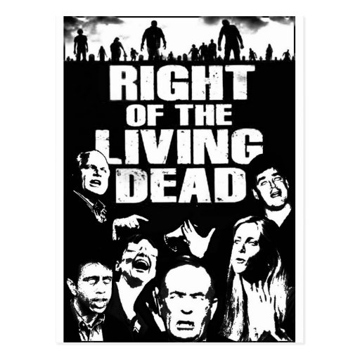 Right of the Living Dead Postcard