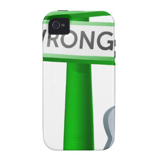Right or Wrong concept Case-Mate iPhone 4 Cases