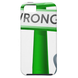 Right or Wrong concept iPhone 5 Covers