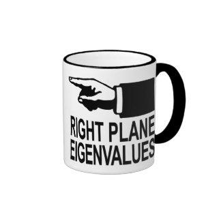 Right Plane Eigenvalues Ringer Mug