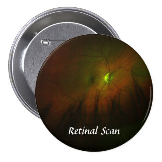 Right, Retinal Scan - Customized 3 Inch Round Button