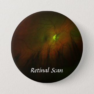 Right, Retinal Scan - Customized Pinback Button