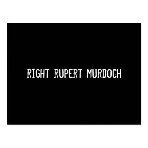 right rupert murdoch postcards