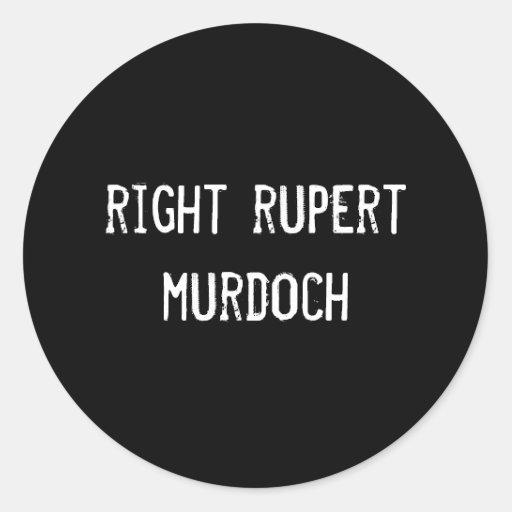 right rupert murdoch stickers