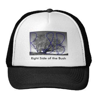 Right Side of the Bush Trucker Hat