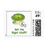 Right Stuff Pinball Postage Stamps
