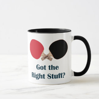 Right Stuff Ping Pong Mug