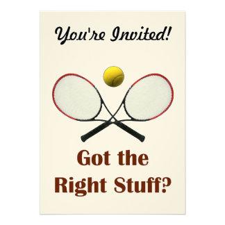 Right Stuff Tennis Announcements