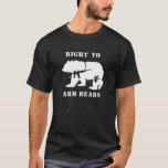 right to arm bears black T-Shirt