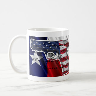 Right To Bear Arms and Drink Coffee Classic White Coffee Mug