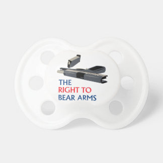 Right To Bear Arms Pacifier