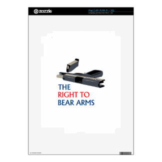Right To Bear Arms Skins For iPad 2