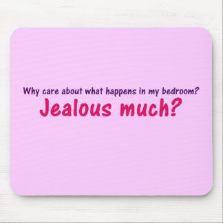 Right to bedroom privacy mousepad