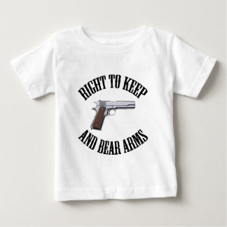 Right To Keep And Bear Arms 1911 Baby T-Shirt