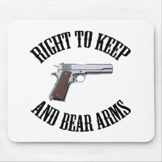 Right To Keep And Bear Arms 1911 Mouse Pads