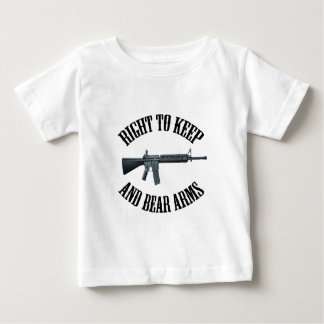 Right To Keep And Bear Arms AR-15 Baby T-Shirt