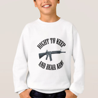 Right To Keep And Bear Arms AR-15 Sweatshirt