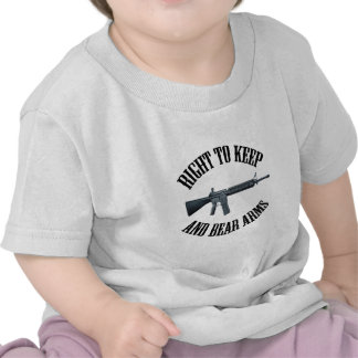 Right To Keep And Bear Arms AR-15 Tees