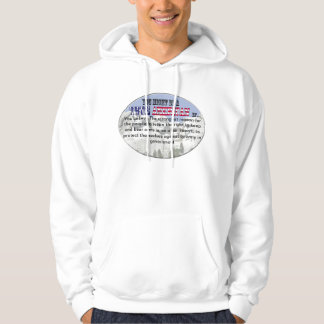 Right to keep and bear arms hoodie