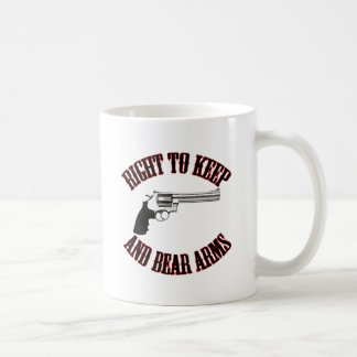 Right To Keep And Bear Arms Revolver Coffee Mug