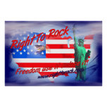 Right To Rock Print