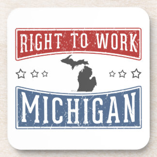 Right To Work Michigan Coaster