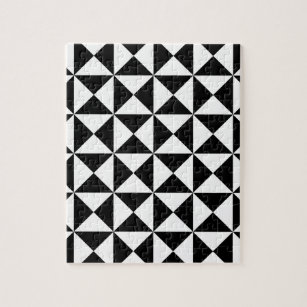 Right Triangle Tessellation Pattern Jigsaw Puzzle
