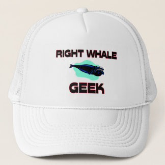 Right Whale Geek Trucker Hat