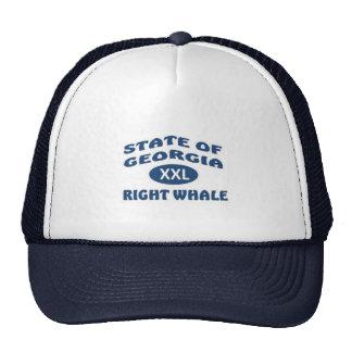 Right Whale State Marine Mammal Trucker Hat