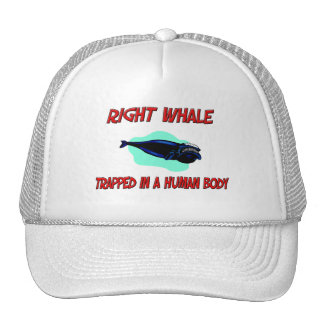 Right Whale trapped in a human body Trucker Hat