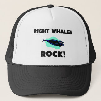 Right Whales Rock Trucker Hat