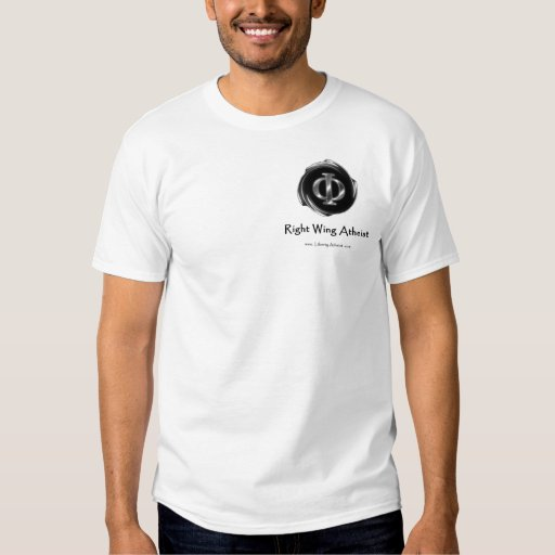 Right Wing Atheist 2 T-Shirt
