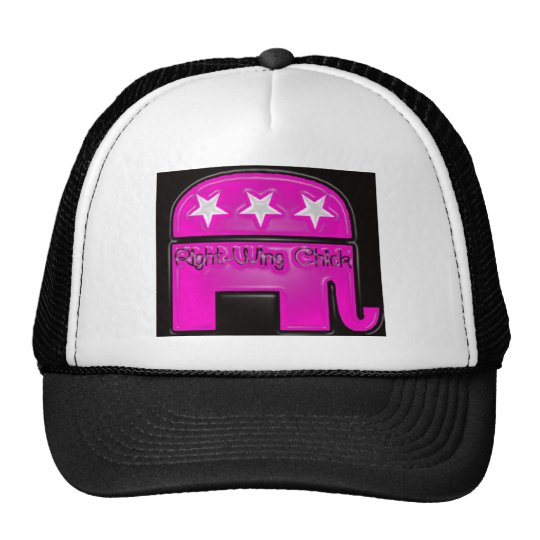 Right Wing Chick Trucker Hat