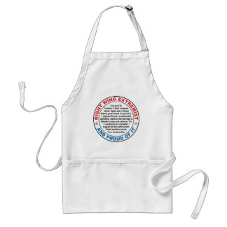 Right Wing Extremist Adult Apron
