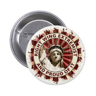 Right Wing Extremist Buttons