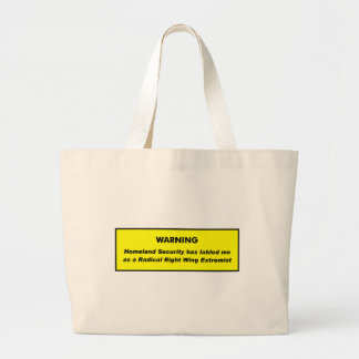 Right Wing Extremist Canvas Bags