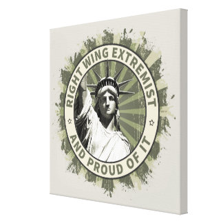 Right Wing Extremist Canvas Print