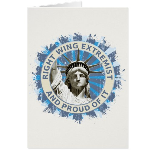 Right Wing Extremist Card