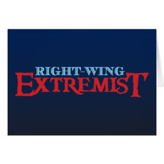 Right-Wing Extremist Card