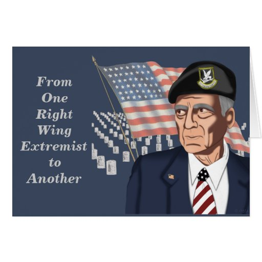 Right-Wing Extremist Cards | Zazzle