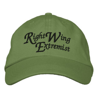 Right Wing Extremist Embroidered Baseball Hat