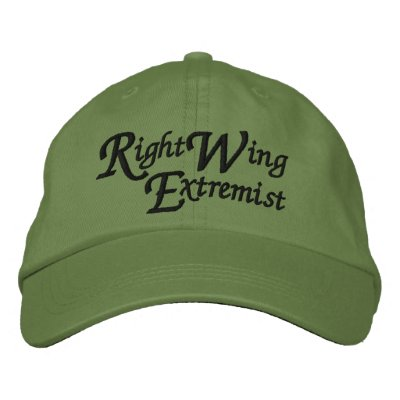 Right Wing Extremist Embroidered Hat
