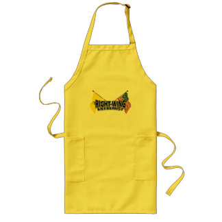 Right Wing Extremist Flags Long Apron