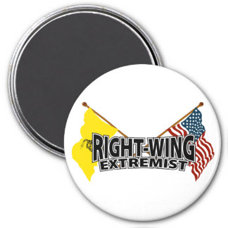 Right Wing Extremist Flags Magnet
